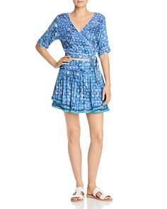 Poupette St. Barth - Heidi Ruffled Mini Skirt