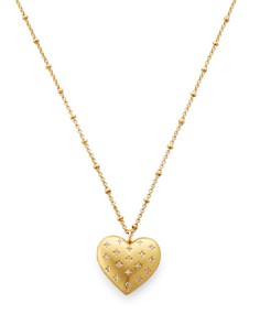 kate spade new york - Heart Locket Necklace, 32""