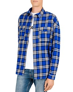 The Kooples - Checked Regular Fit Button-Down Shirt