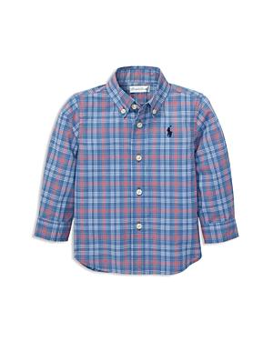 Ralph Lauren Boys Plaid Cotton Poplin Shirt  Baby