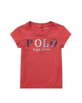 Ralph Lauren - Girls' Floral Polo Jersey Tee - Baby