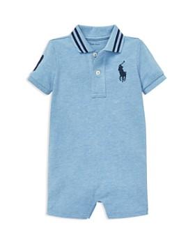 Ralph Lauren - Boys' Cotton Mesh Polo Shortall - Baby ...