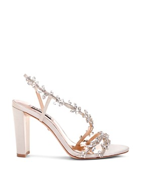 Badgley Mischka - Women's Felda Crystal Embellished High-Heel Sandals