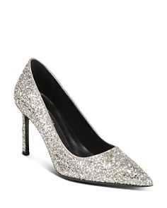 Via Spiga - Women's Nikole 3 Glitter Pumps