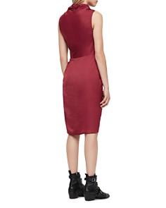 ALLSAINTS - Cancity Ruched Wrap Dress