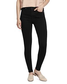 Ella Moss - High-Rise Skinny Jeans in Od Black