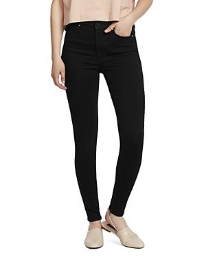 Ella Moss High-Rise Skinny Jeans in Od Black