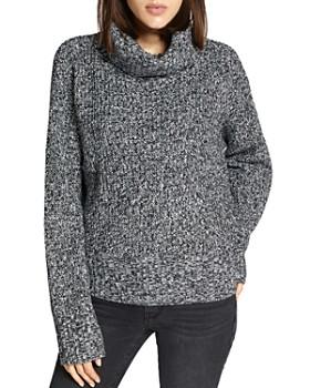 Sanctuary - Marled Turtleneck Sweater