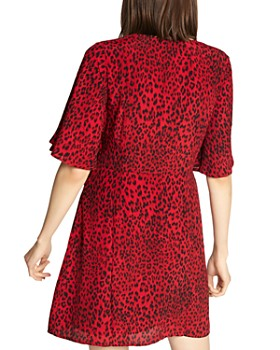 Sanctuary - Girl on Fire Faux Wrap Dress