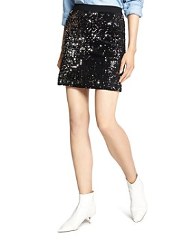 Sanctuary - Ready For The Night Sequined Mini Skirt