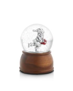 Nambé - Reindeer Musical Snow Globe