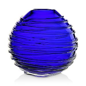 William Yeoward Crystal Miranda Ocean Globe Vase, 9