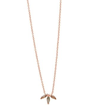 Gorjana PERRY TRIPLE SIMULATED OPAL PENDANT NECKLACE, 18