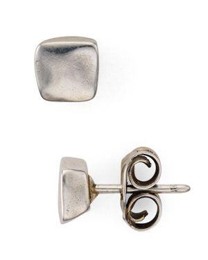 UNO DE 50 Uno De 50 Square Stud Earrings in Silver