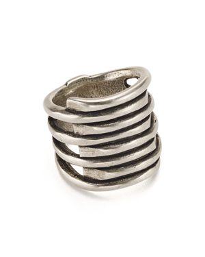 UNO DE 50 Uno De 50 Tornado Ring in Silver