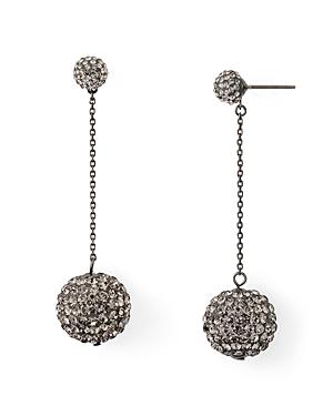 kate spade new york Pave Encrusted Linear Drop Earrings