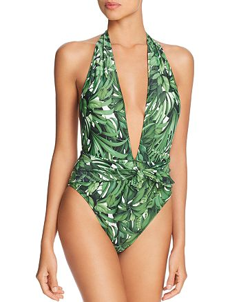 MILLY - Tropical Print One Piece Swimsuit