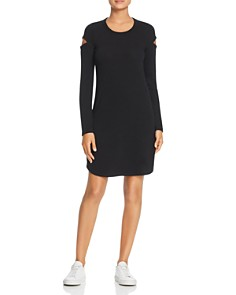 Robert Michaels - Long-Sleeve Cutout Dress