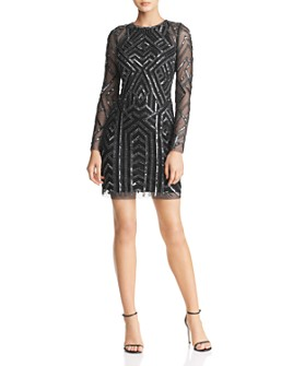 Aidan by Aidan Mattox - Embellished Cocktail Dress