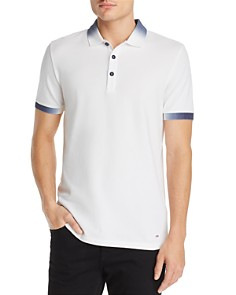 BOSS - Gradient-Accented Polo Shirt