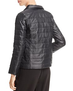 Eileen Fisher Petites - Stand Collar Puffer Jacket