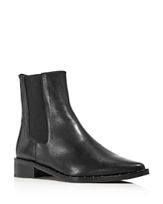 Freda Salvador - Women's Pointed Toe Chelsea Boots