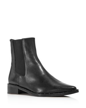 FREDA SALVADOR Women'S Pointed Toe Chelsea Boots in Black