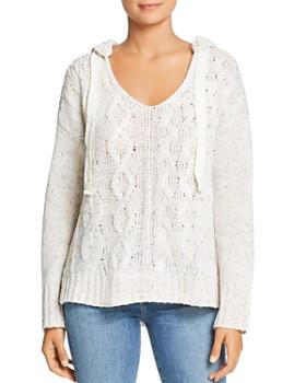 Cupio - Cable Hoodie Sweater