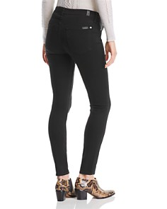 7 For All Mankind - Maternity Ankle Skinny Jeans in B(air) Black