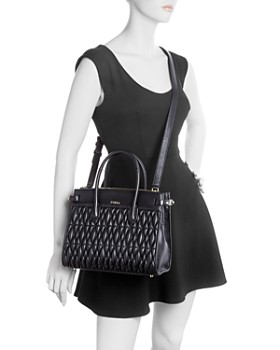 Furla - Pin Small Quilted Leather Tote