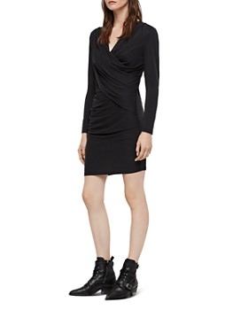 ALLSAINTS - Sofia Draped Jersey Dress