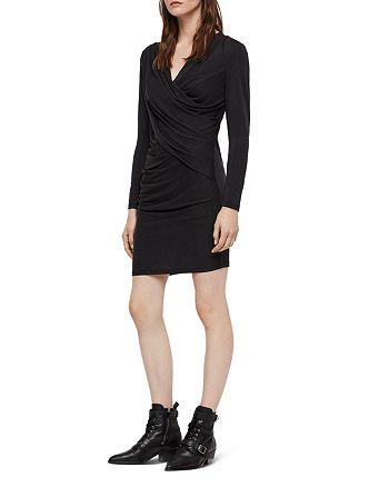 ALLSAINTS - Sofia Draped Jersey Dress