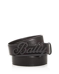 Bally - Swoosh Reversible Leather Belt