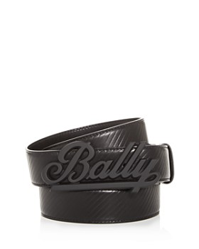 e93e53e0b3 Bally - Men's Swoosh Reversible Leather Belt ...