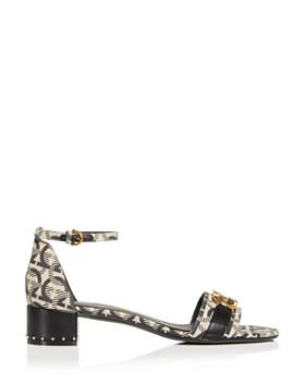 Salvatore Ferragamo - Women's Como Ankle Strap Block-Heel Sandals