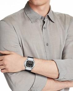 G-Shock - Masterpiece Silver & Black Watch, 42.8mm x 48.9mm