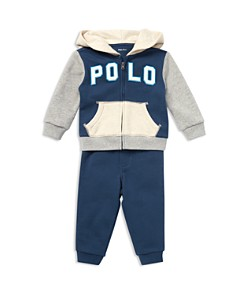 Ralph Lauren - Boys' Terry Hoodie & Jogger Pants Set - Baby