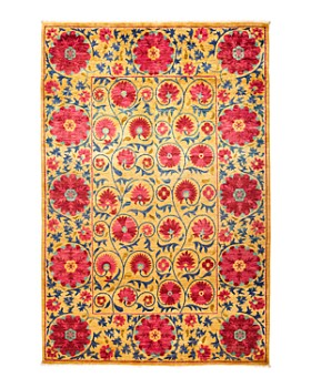 Solo Rugs - Iris Suzani Area Rug Collection