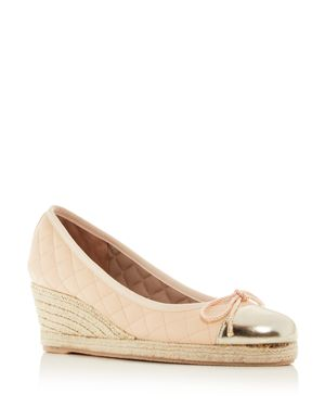 PAUL MAYER Women'S Just Quilted Espadrille Wedge Pumps in Orleans
