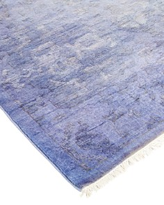 """Solo Rugs - Vibrance Omaha Hand-Knotted Area Rug, 6'3"""" x 9'3"""""""
