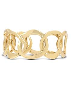 Robert Lee Morris Soho - Sculptural Link Bangle Bracelet