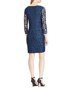 Ralph Lauren - Metallic Lace Dress