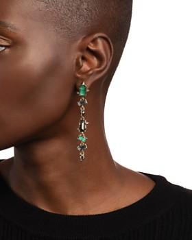 Alexis Bittar - Crystal Linear Drop Earrings
