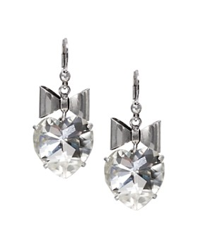 3bac98036 Tory Burch - Bow & Heart Drop Earrings ...