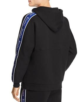 Etudes - Logo-Stripe Hooded Sweatshirt