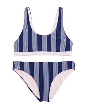 Splendid - Girls' Reversible 2-Piece Swimsuit, Big Kid - 100% Exclusive