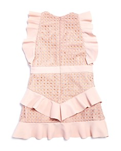 Bardot Junior - Girls' Ruffed Eyelet Lace Dress - Big Kid