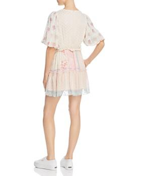 Hemant and Nandita - Mixed-Print Mini Dress