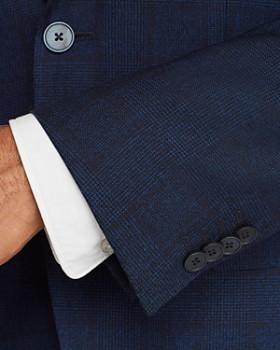 BOSS - Jewels Mélange Tonal Plaid Regular Fit Sport Coat