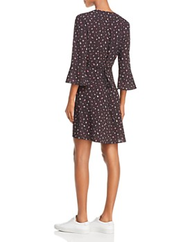 FRENCH CONNECTION - Verona Edith Ditsy Floral Faux-Wrap Dress